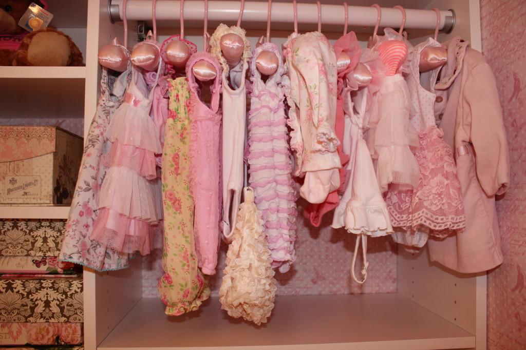 Vintage Glam Girl Nursery Clothes