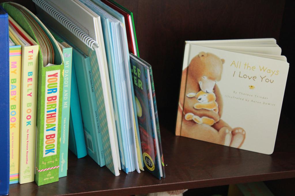 Boy Alligator Nursery Bookcase