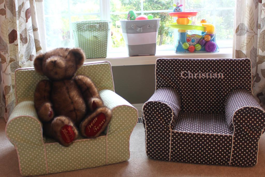 Vintage Chic Playroom Kids Chairs