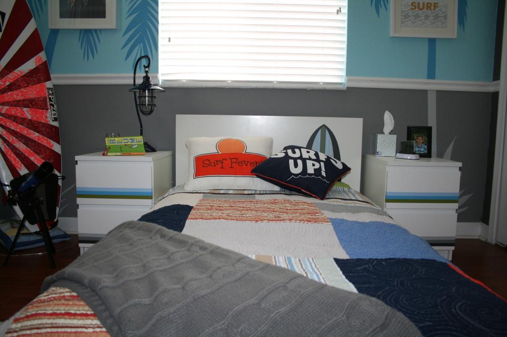 kikos surf themed bedroom project nursery