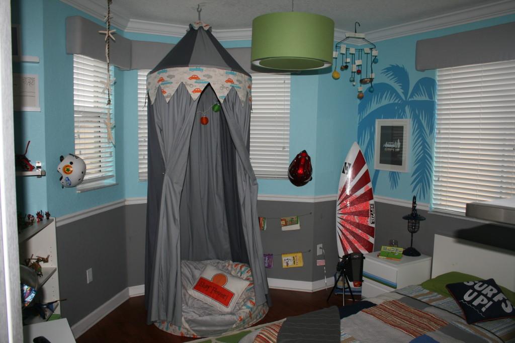 Kiko S Surf Themed Bedroom Project Nursery