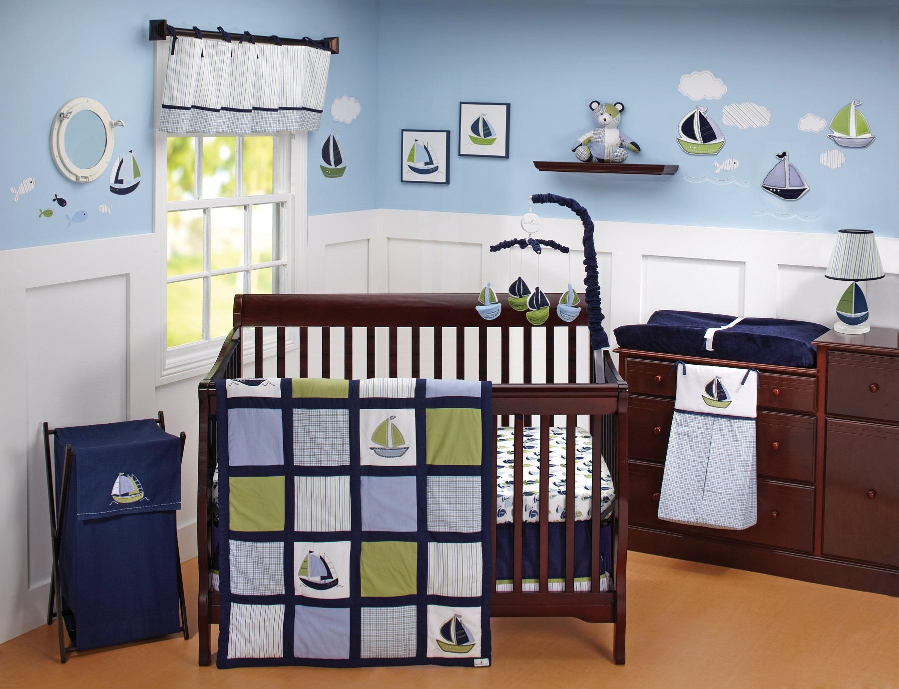 Giveaway Nautica Bedding Set Project Nursery