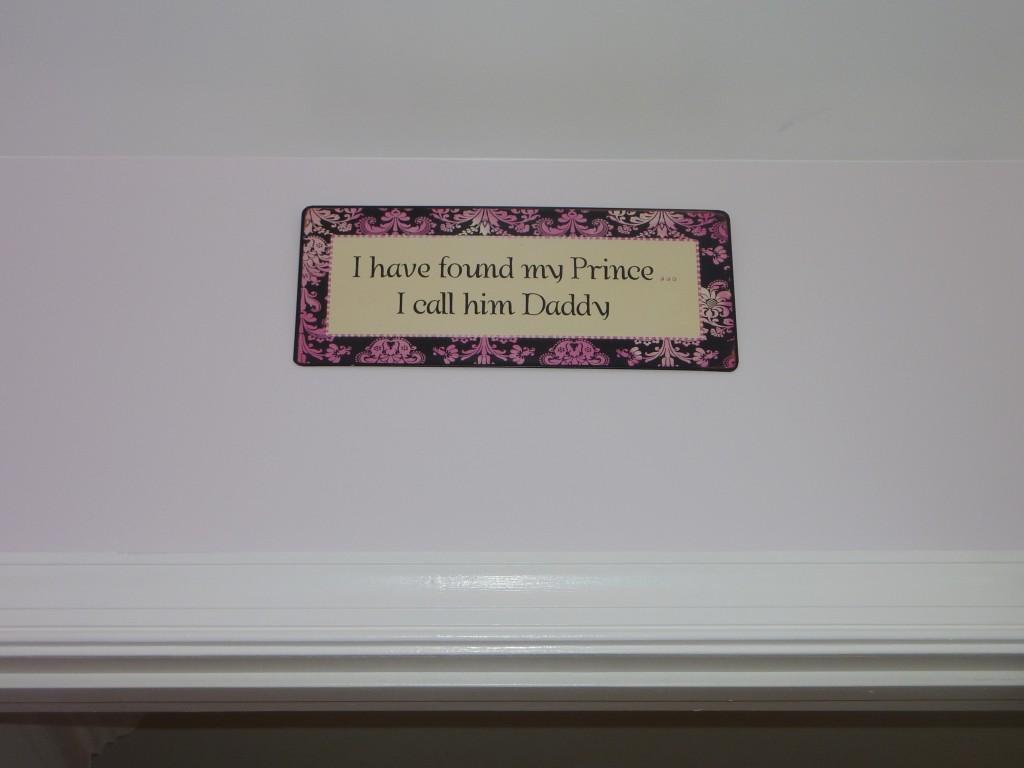 Hot Pink and Gray Elegant Girl Nursery Box