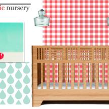 Picnic Nursery Design Board
