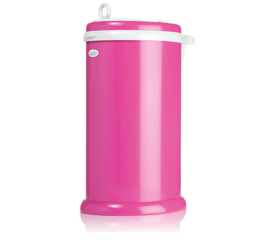 nursery must-have Pink Ubbi Diaper Pail
