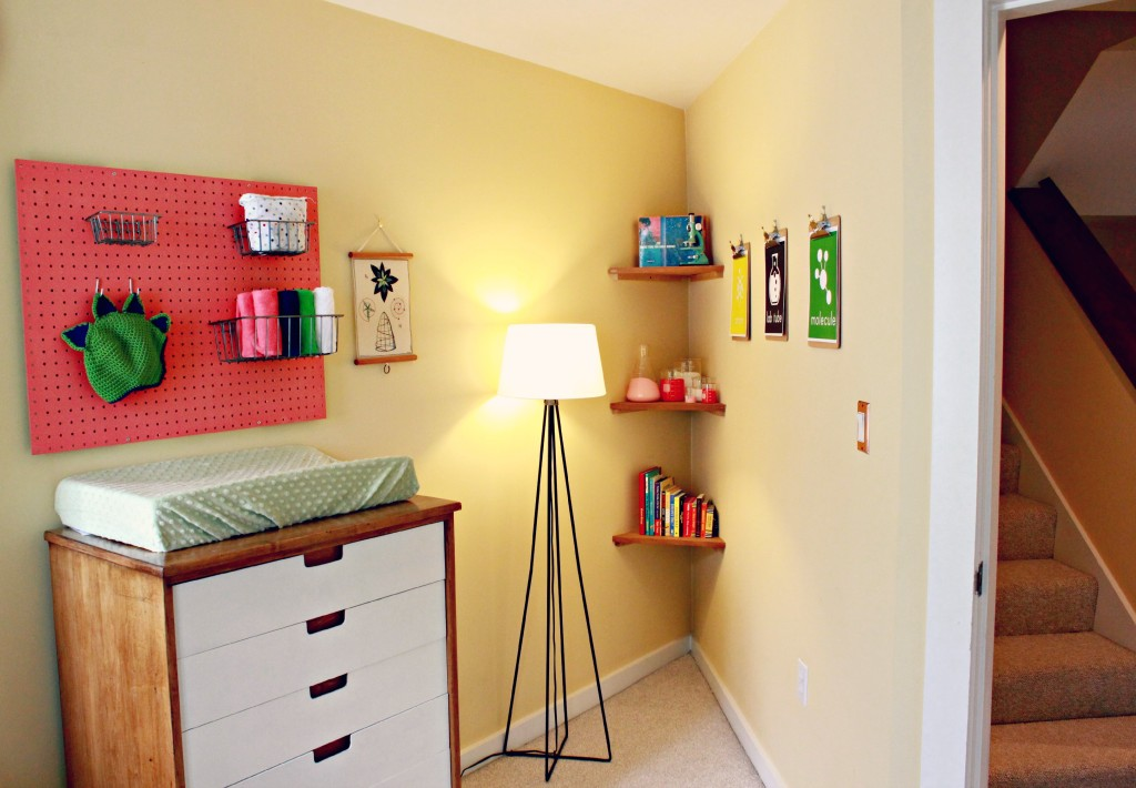 Mod Vin Cheerful Girl Nursery Light and Room Corner