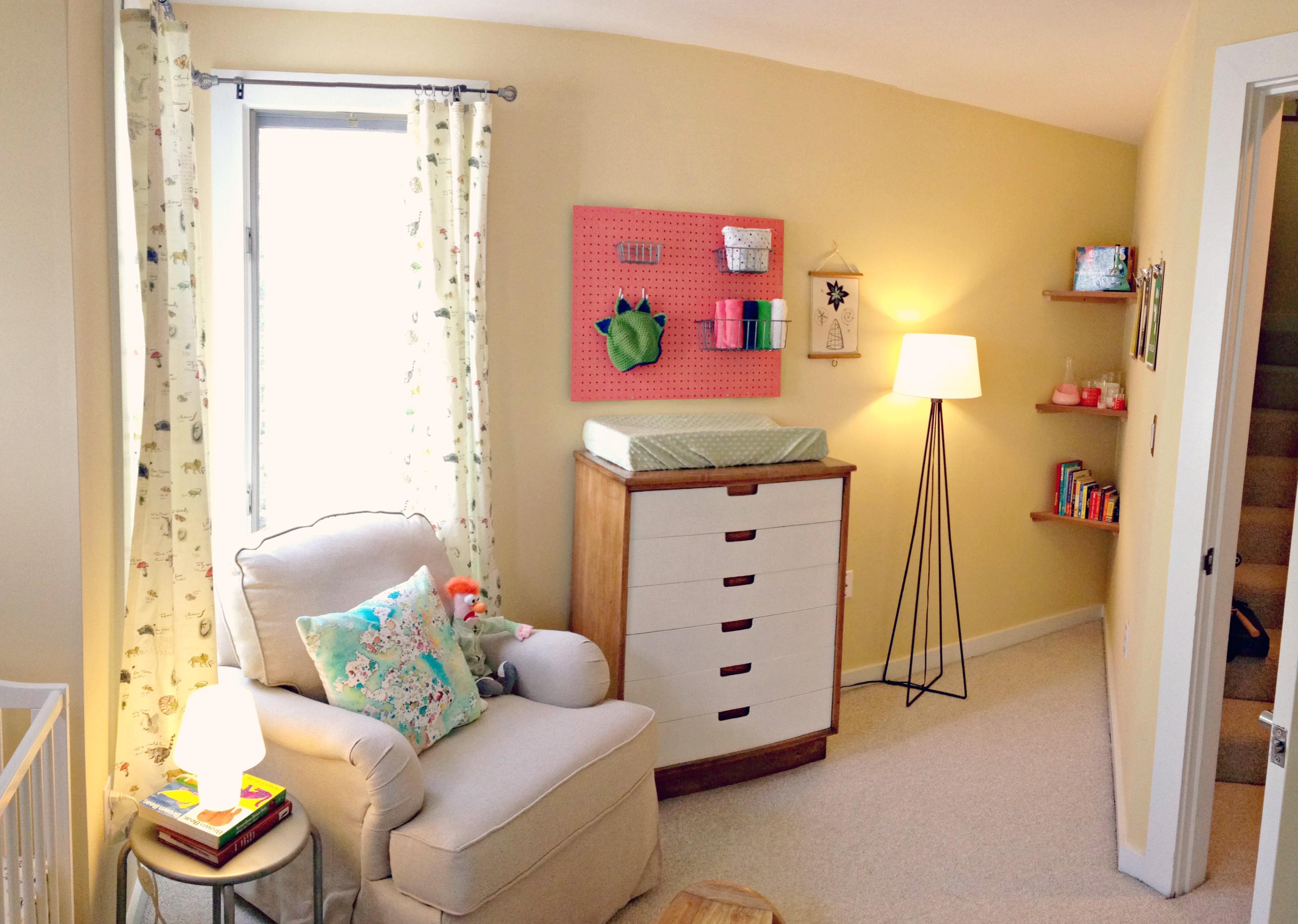 Mod Vin Cheerful Girl Nursery Room Show