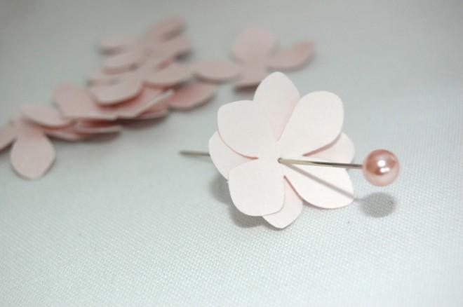 DIY Paper Flower Pomander