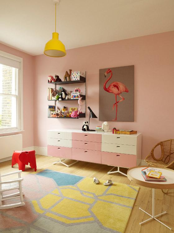Colorful Girl's Nursery