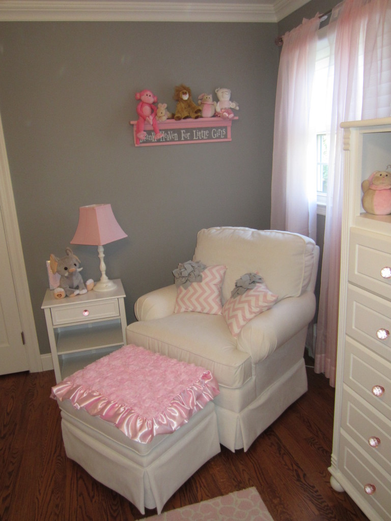 Pink And Gray Classic And Girly Nursery Project Nursery