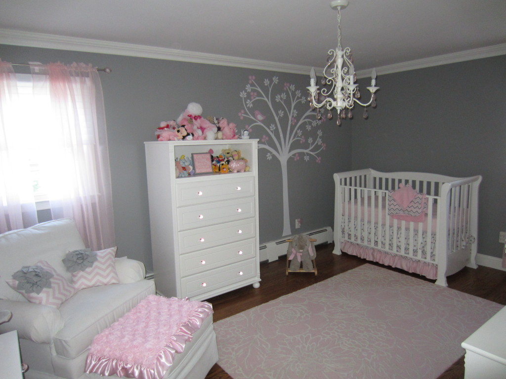 pink baby bedroom ideas pink and gray classic and girly nursery project nursery 16700
