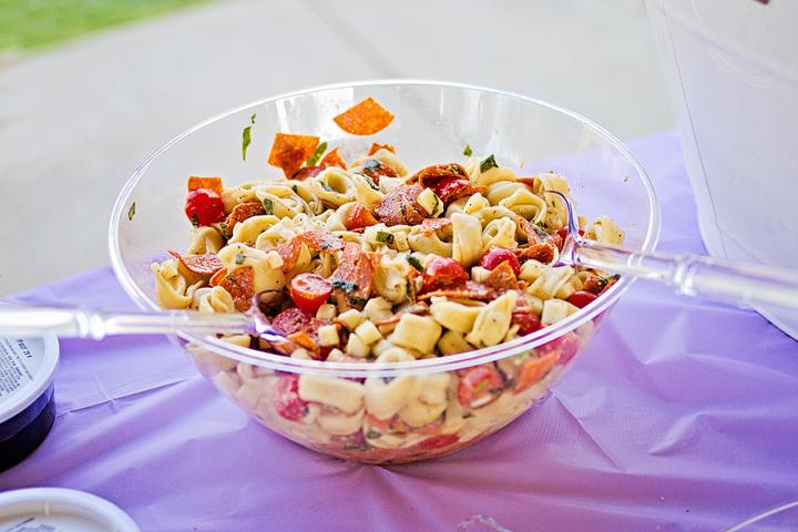 Little Mermaid 4th Birthday Party Corn Salad