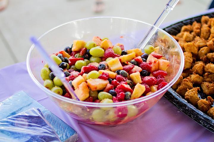 Little Mermaid 4th Birthday Party Fruit Salad