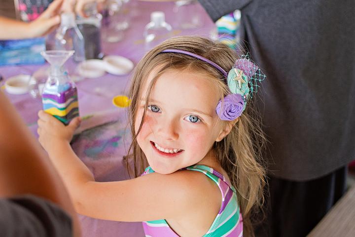 Little Mermaid 4th Birthday Party Birthday Girl