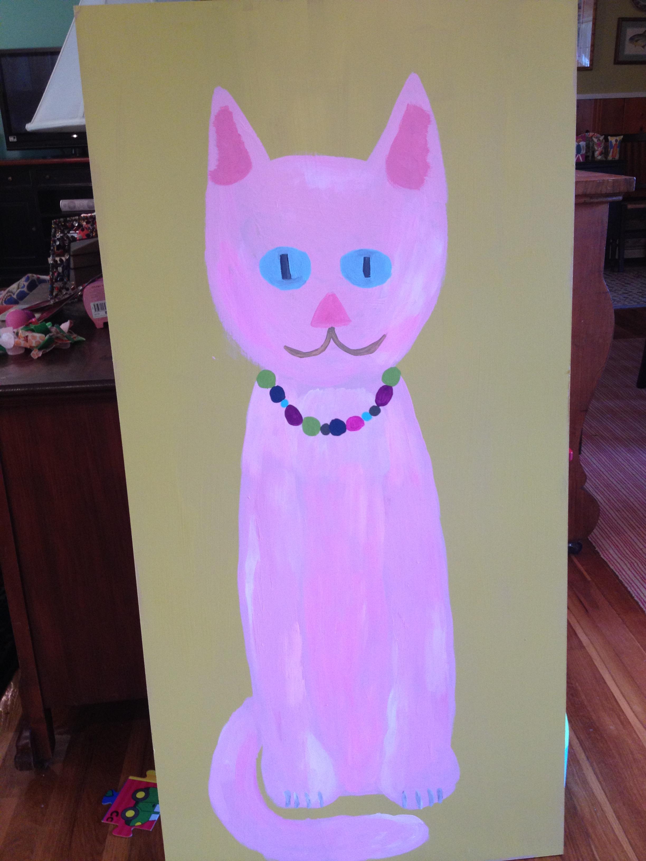 Kitty Themed Party Cat Art