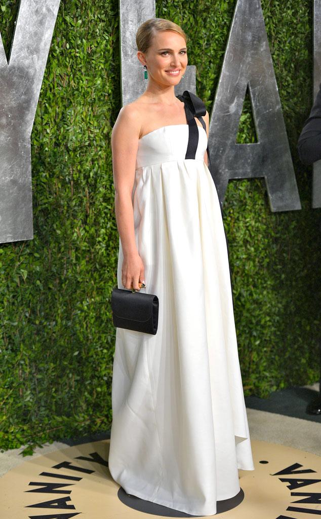 Natalie Portman's Maternity Style