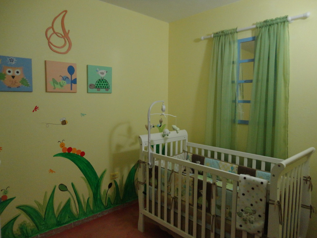 Boy Yellow and Green Nursery