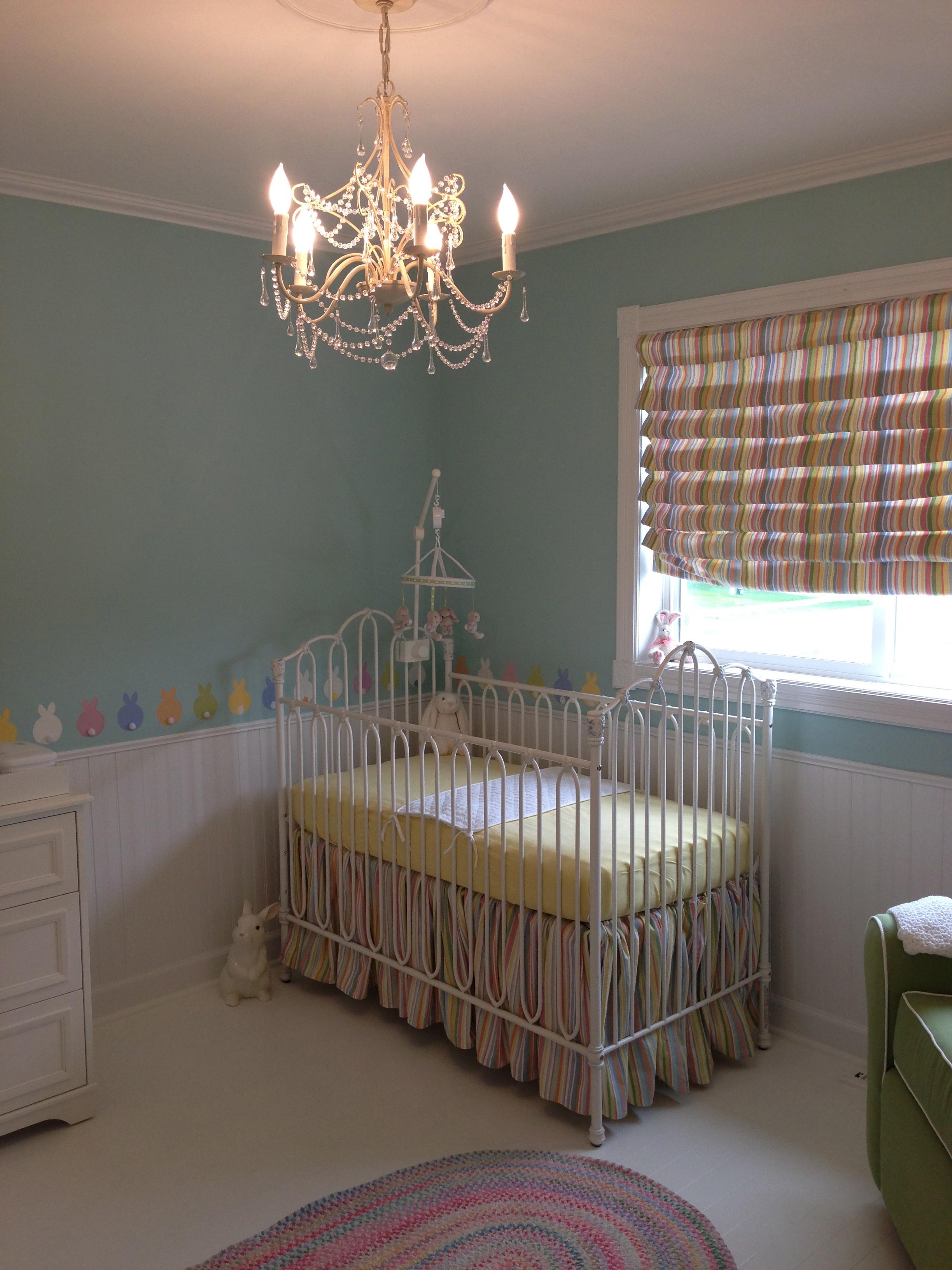 Bunny Nursery Crib