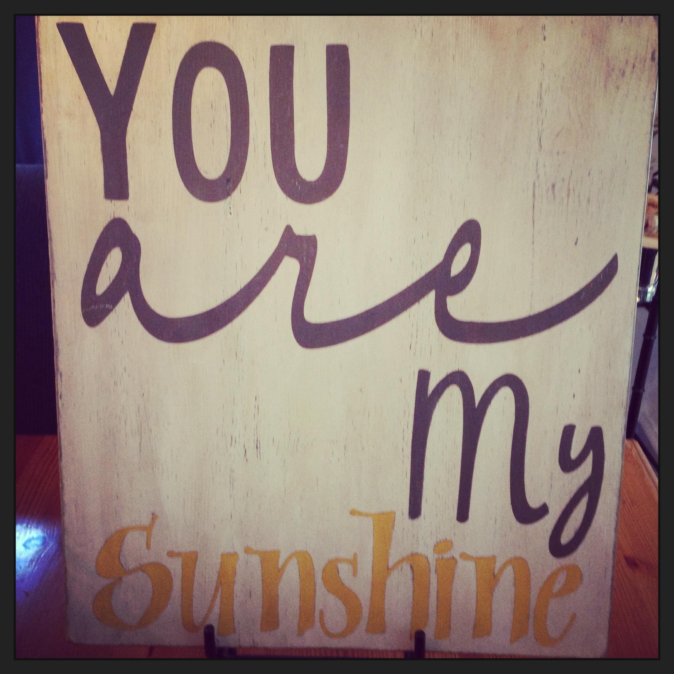 You Are My Sunshine Themed Nursery