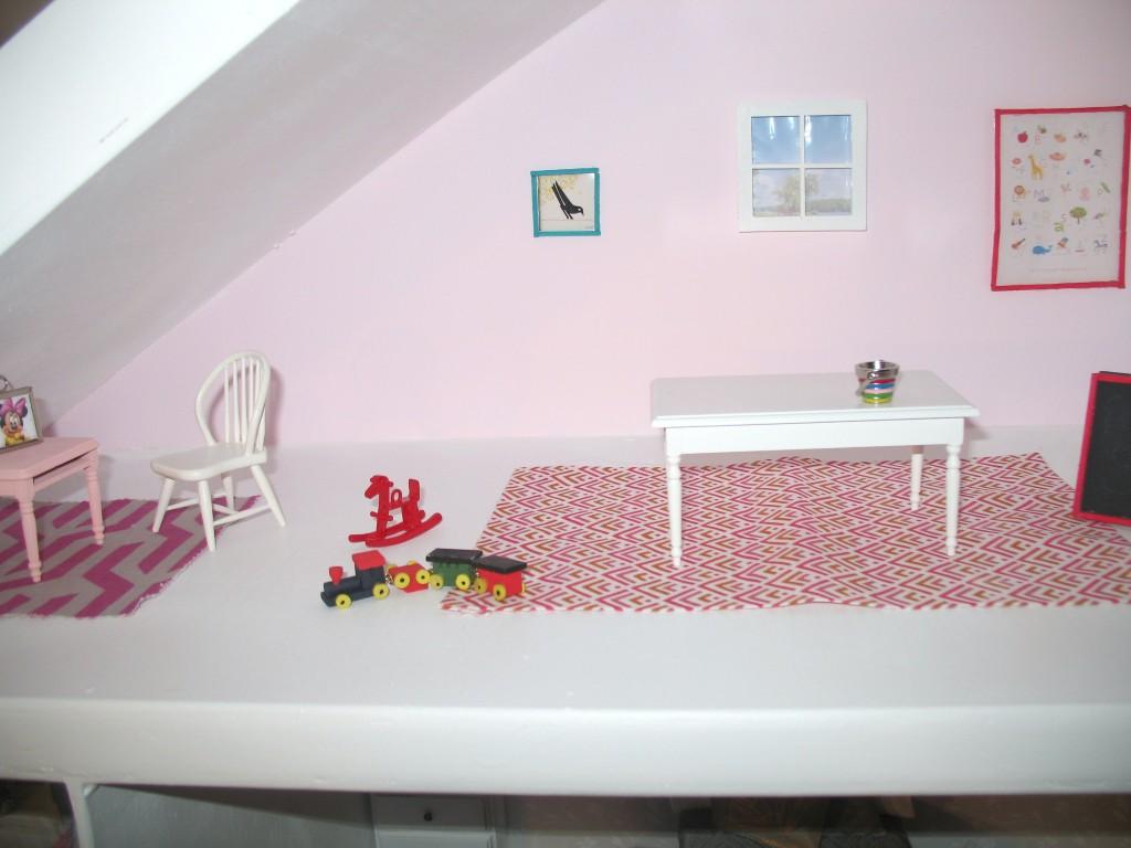 DIY Dollhouse Attic