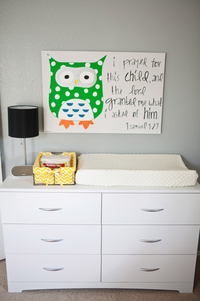 Gray and Orange Eclectic Room Changer