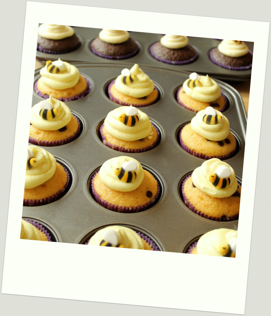Winnie the Pooh Birthday Party Cupcakes