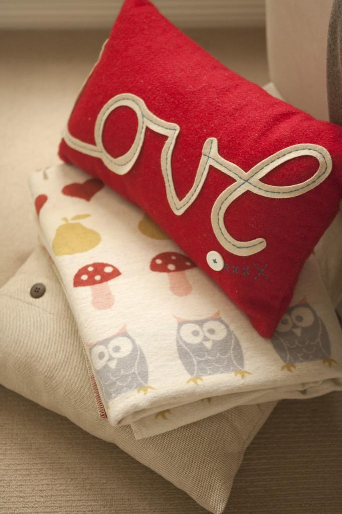 Unisex Neutral Nursery Pillow