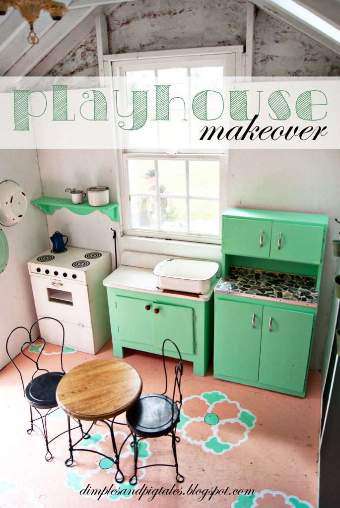 Playhouse Makeover Project Nursery