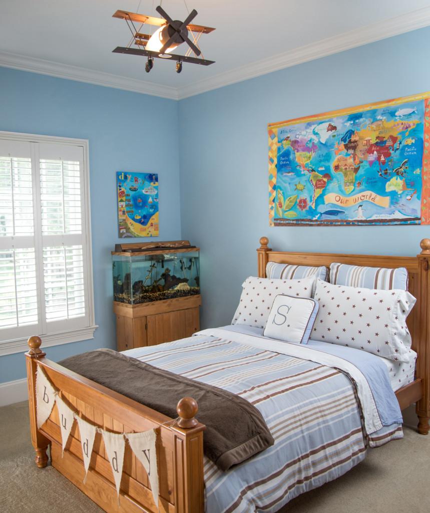 Sebastien's World Explorer Bedroom