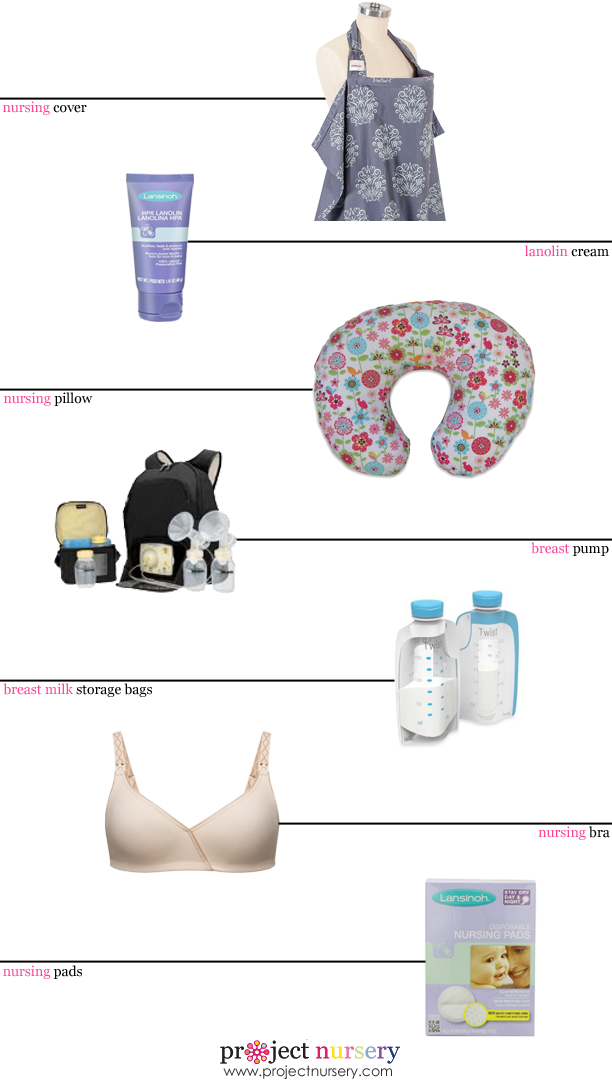 Breastfeeding Must-haves