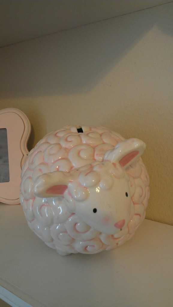 Sheep Piggy Bank