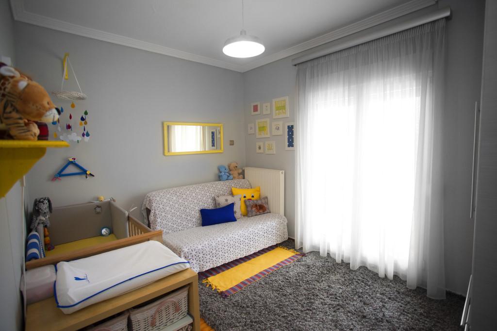Boy Gray and Yellow Nursery