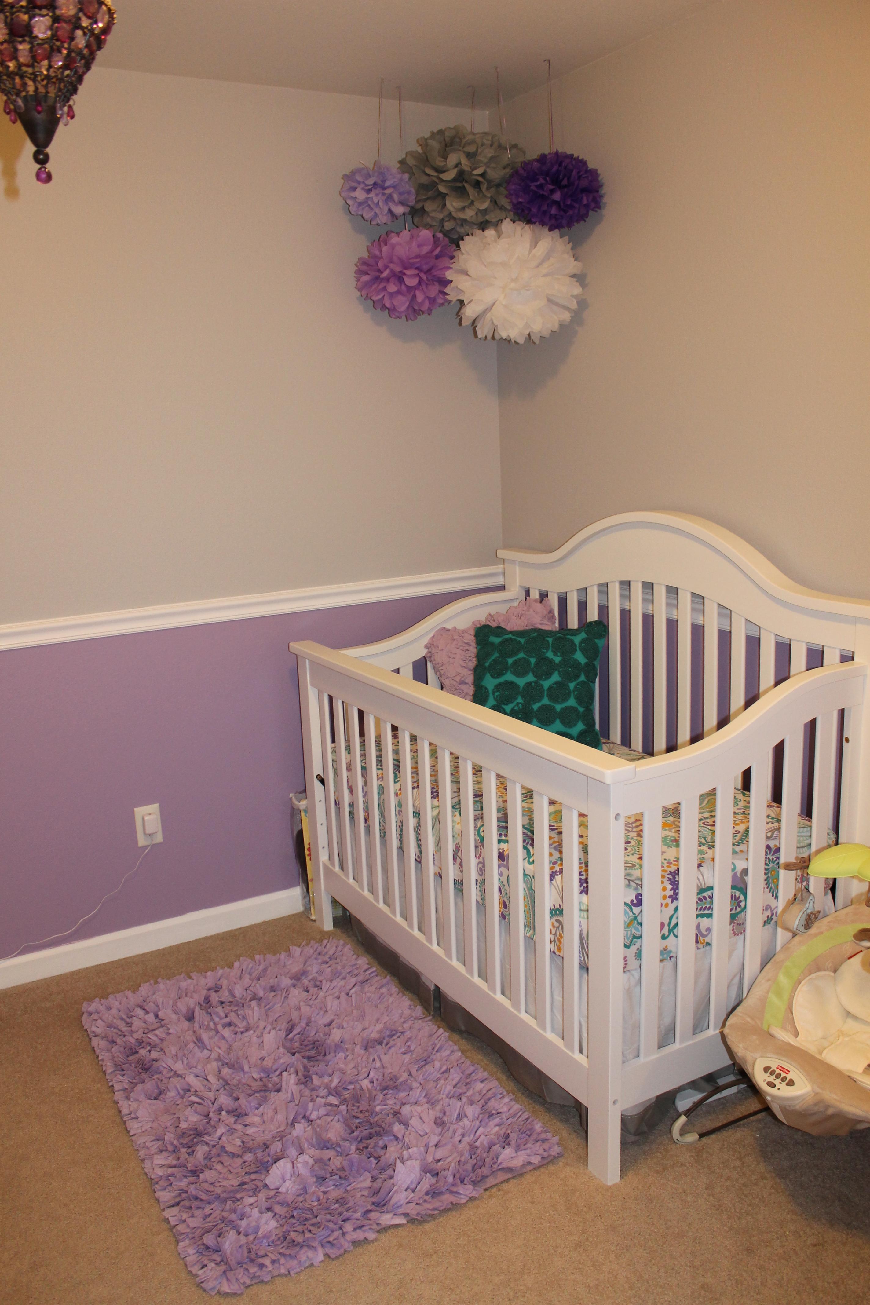 Lavender Amp Gray Nursery Project Nursery