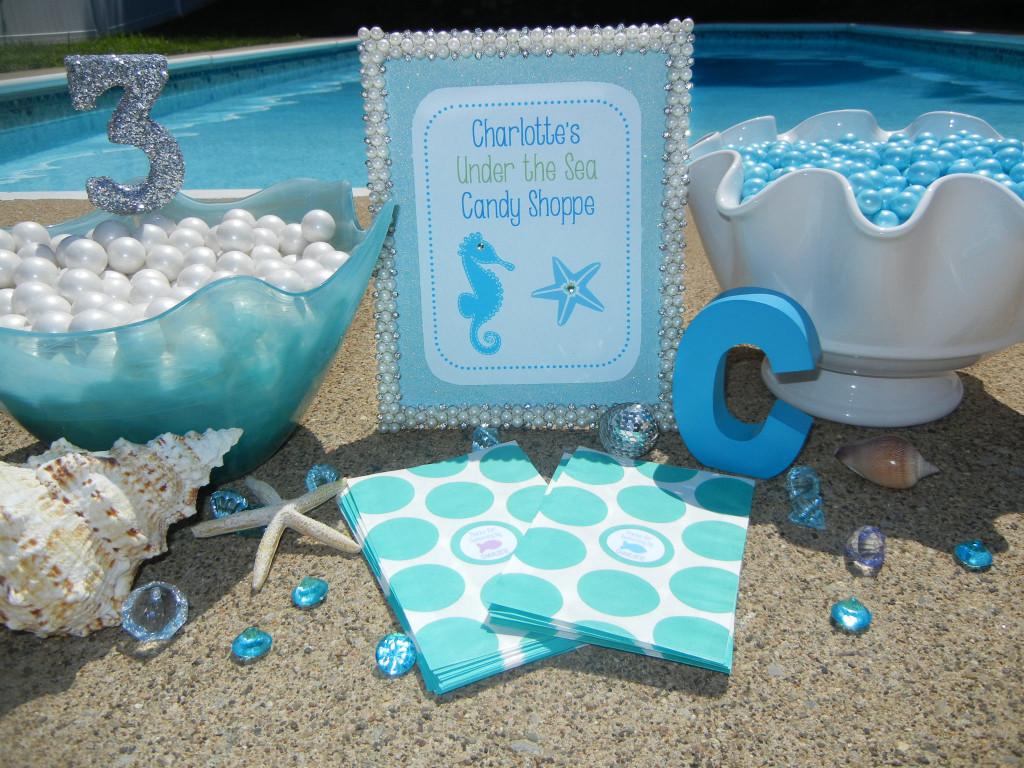 Mermaid Pool Party Invitations with nice invitation sample
