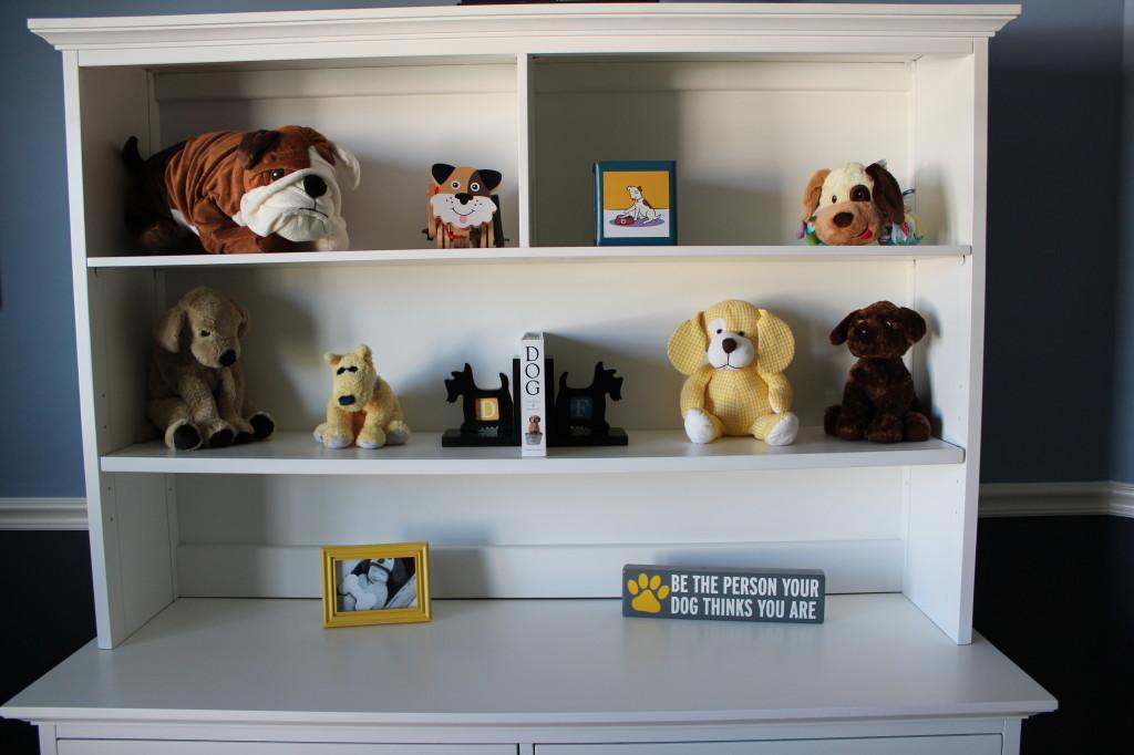 Doy Themed Nursery Dog Accents