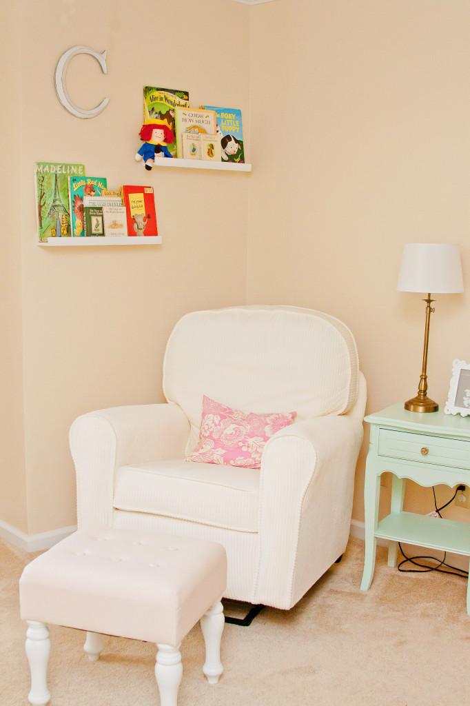Girl Pastel Room Glider