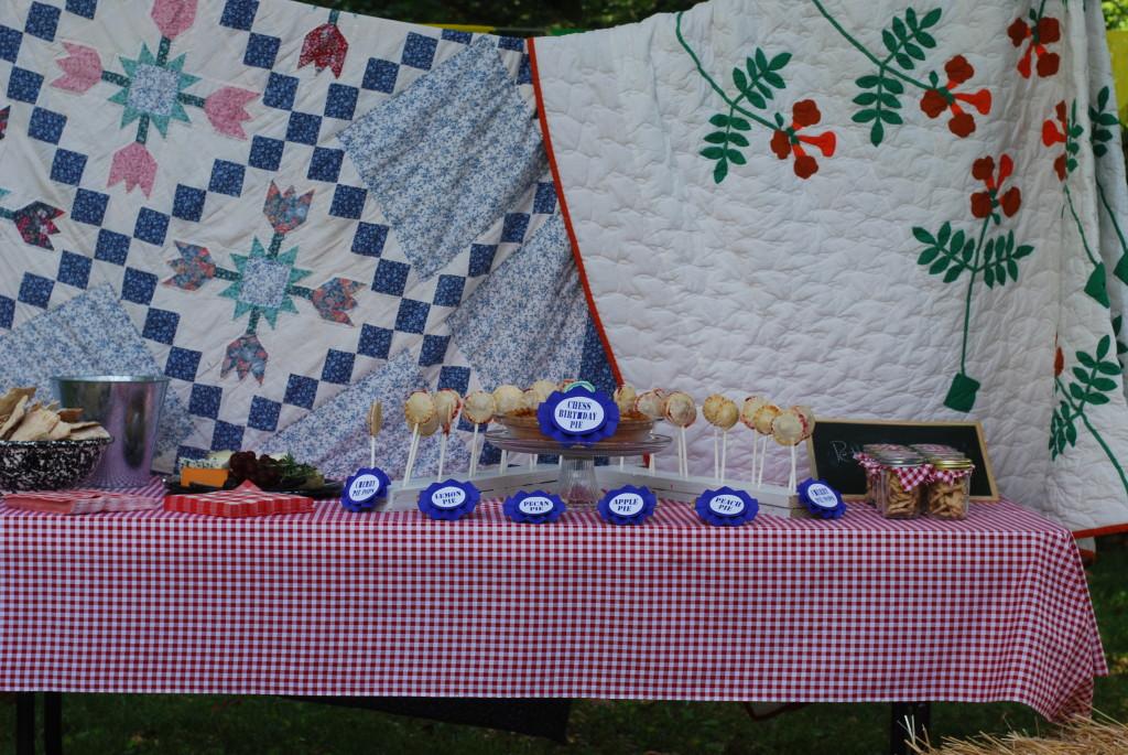 County Fair 2nd Birthday Party Table Spread