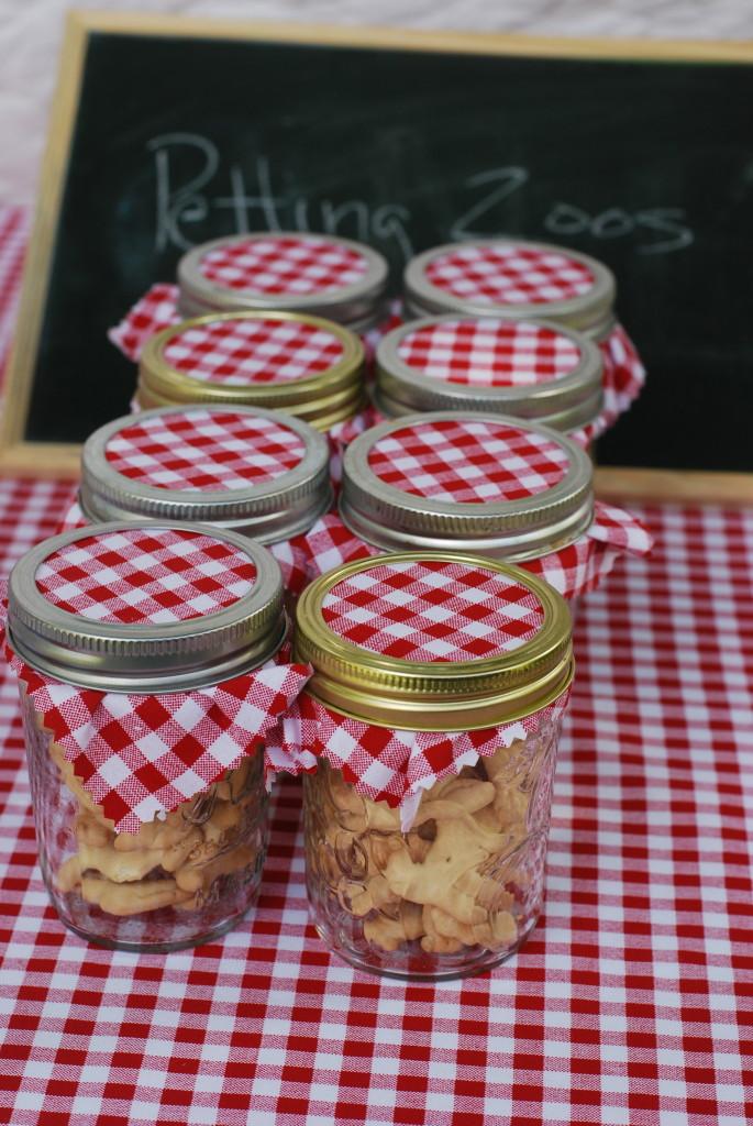 County Fair 2nd Birthday Party Pie Jars