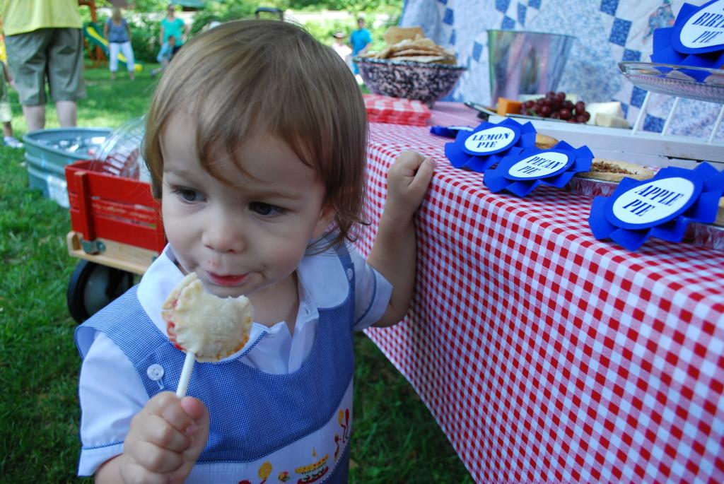 County Fair 2nd Birthday Party Birthday Boy