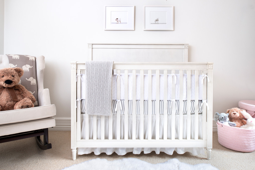Gray and White Serene Nursery
