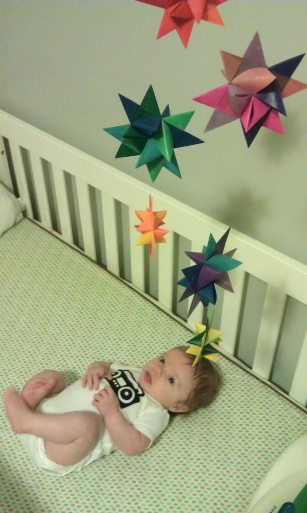 Gender-Neutral Nursery Paper Stars