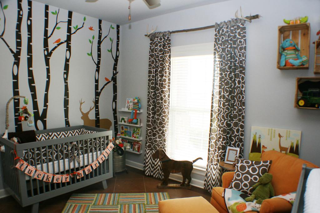 18 Woodlands Boy Nursery Room View