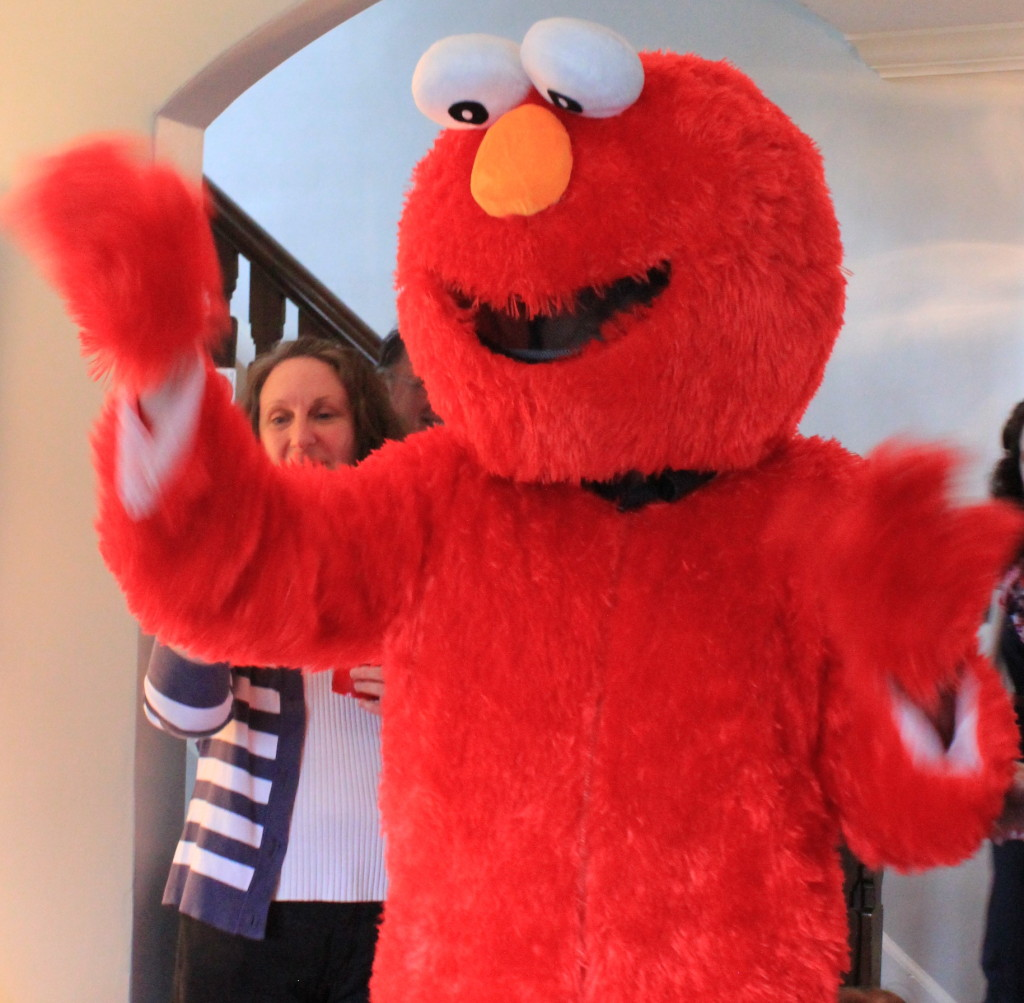 Elmo Birthday Bash Elmo