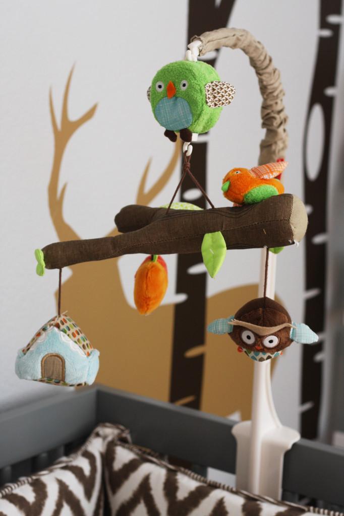Woodlands Boy Nursery Mobile