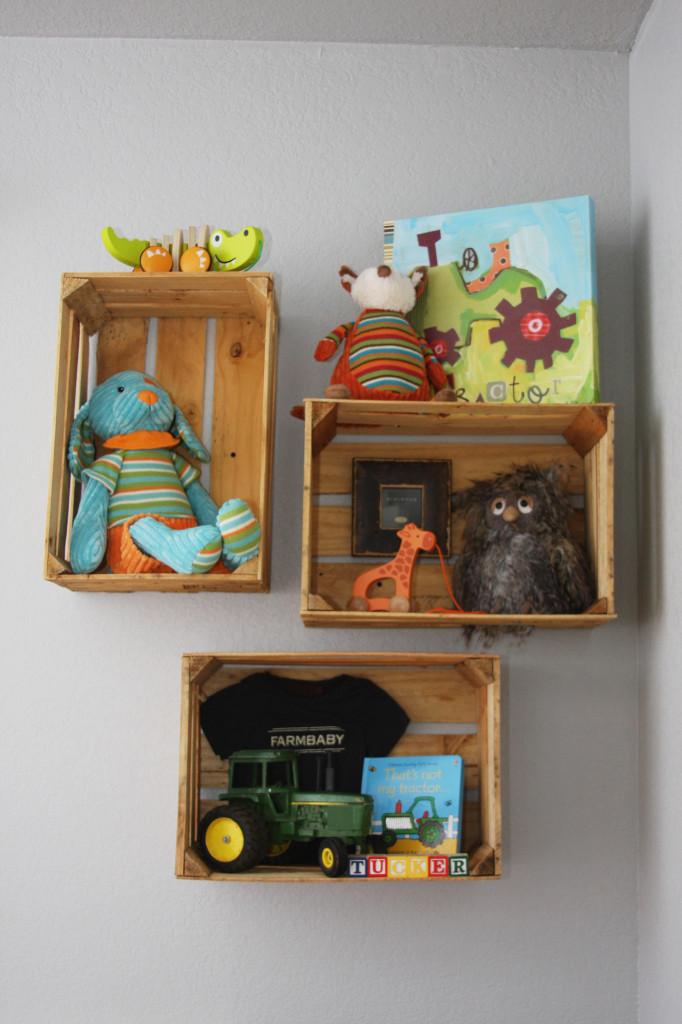Woodlands Boy Nursery Toys