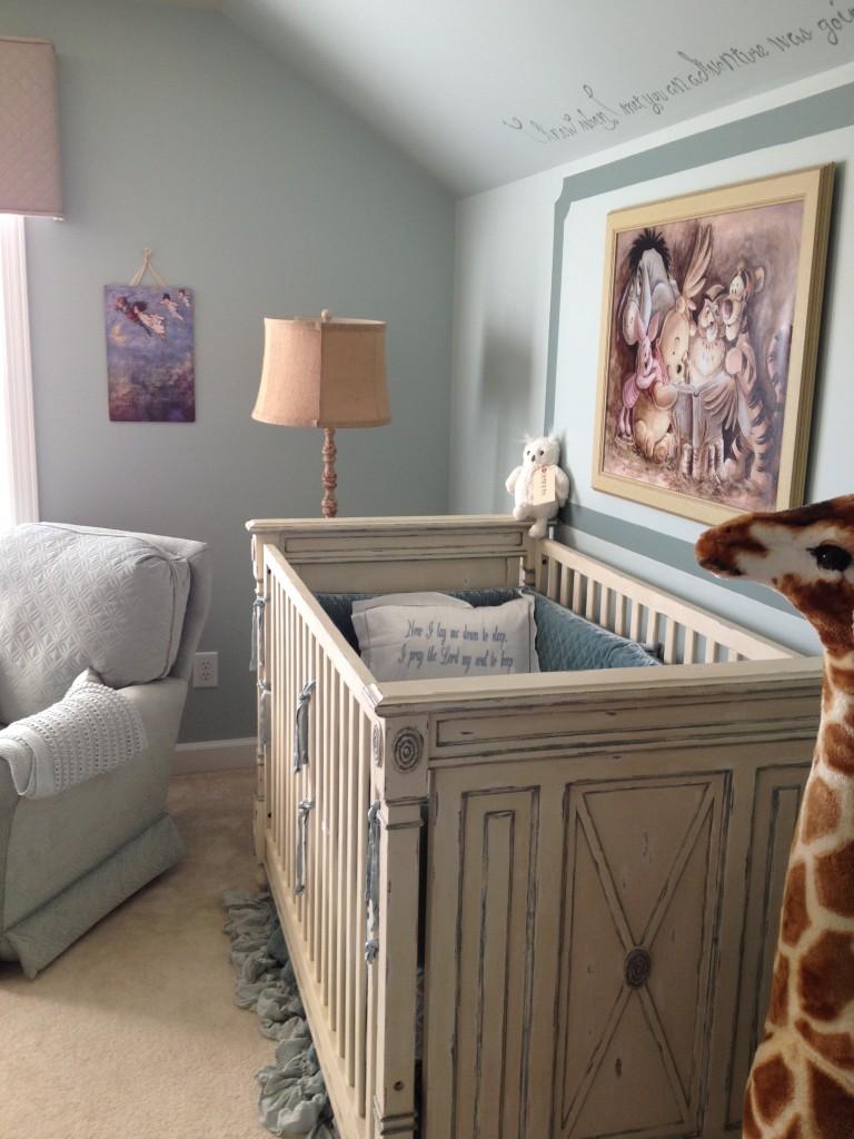 Classic Storybook Nursery Crib