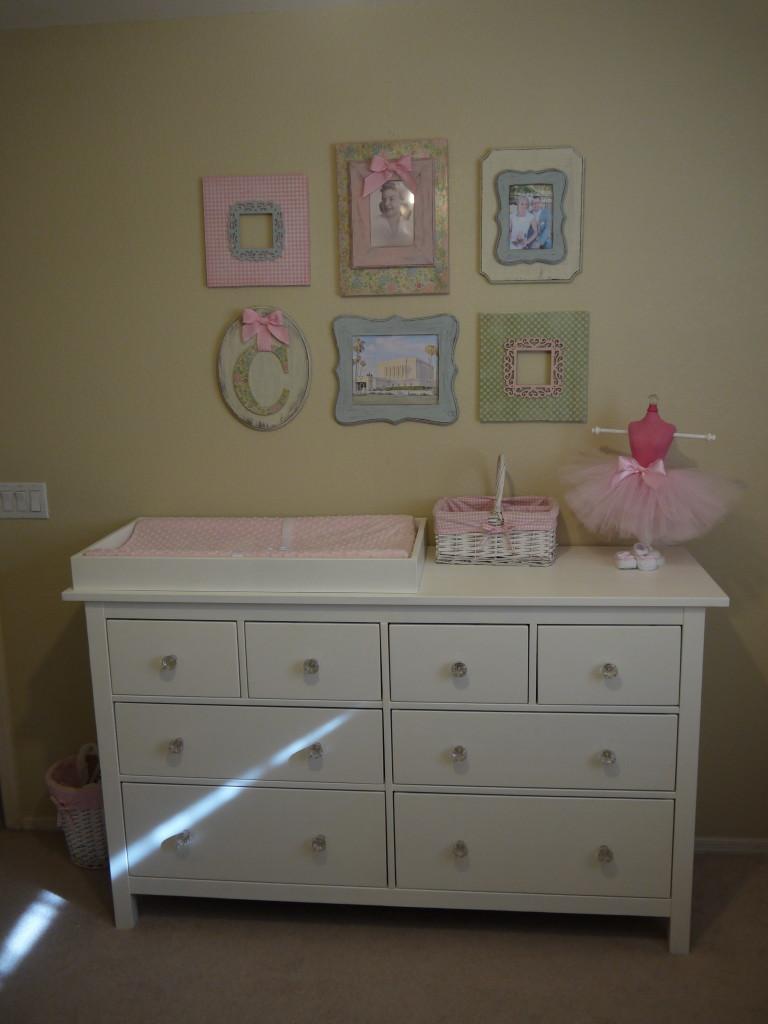 Baby Girl Shabby Chic Nursery Changer