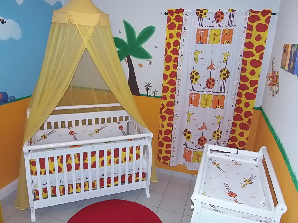 Animal Inspired Nursery Room View