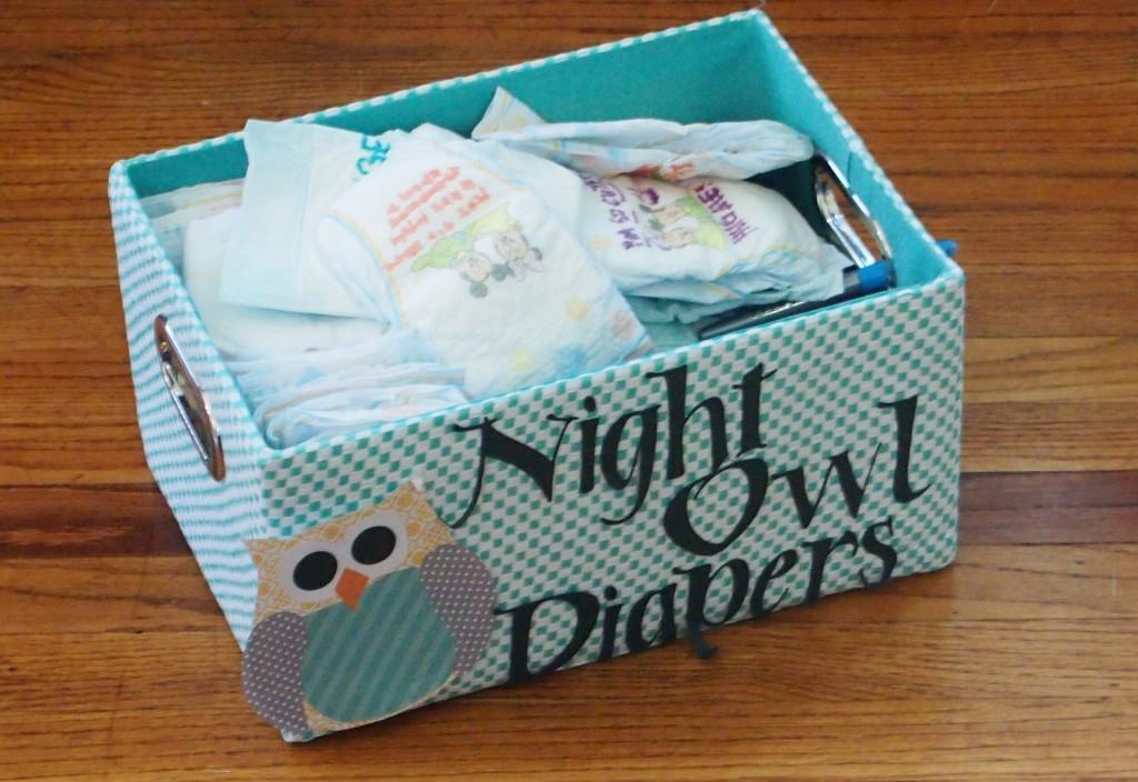 Nighttime Diaper Box