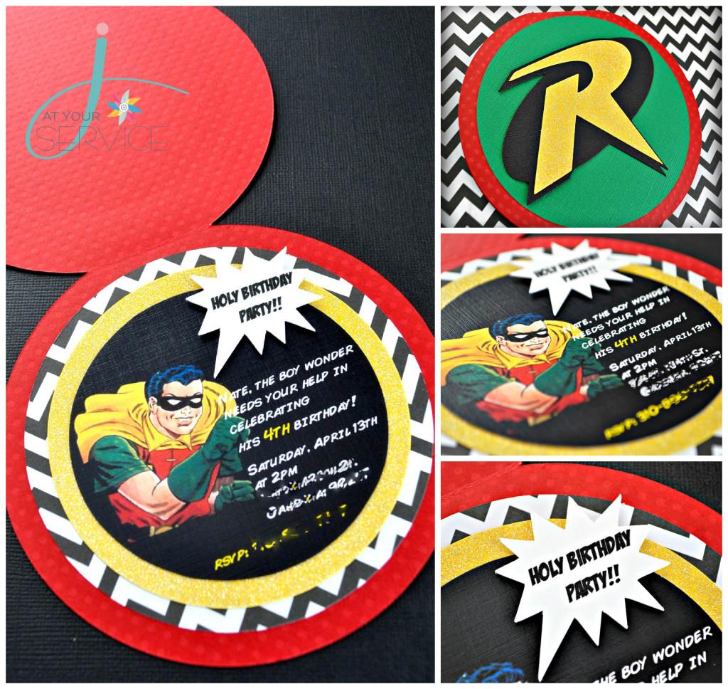 Robin The Boy Wonder 4th Birthday